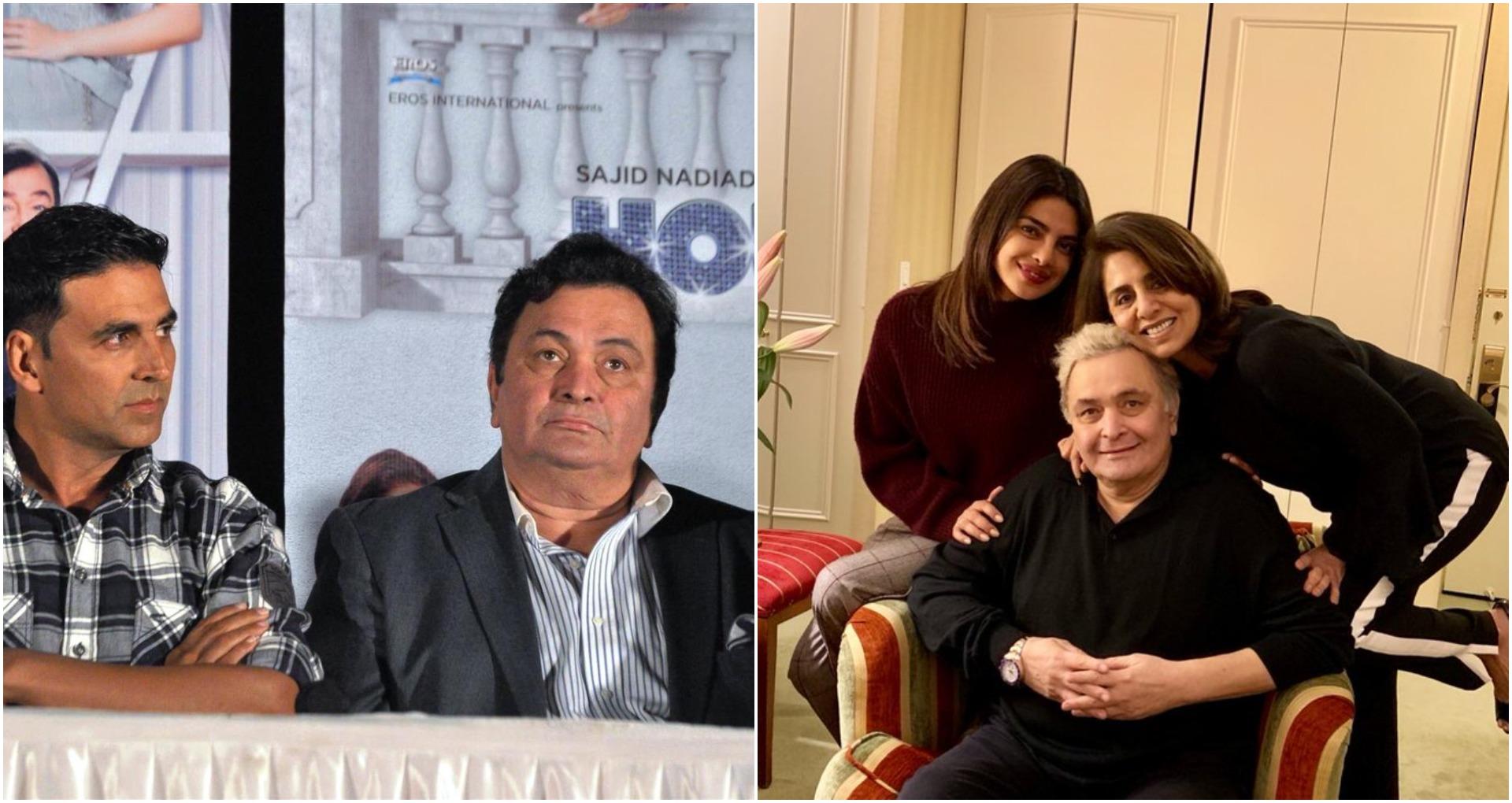 Rishi Kapoor Dies: बॉलीवुड इंडस्ट्री में फिर छाई गम की लहर, अक्षय कुमार और प्रियंका चोपड़ा ने दी श्रद्धांजलि