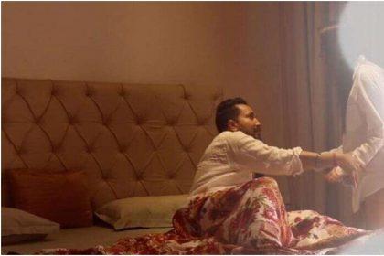मीका सिंह और चाहत खन्ना की बेडरूम की फोटो हो रही हैं वायरल, देखें तस्वीरें