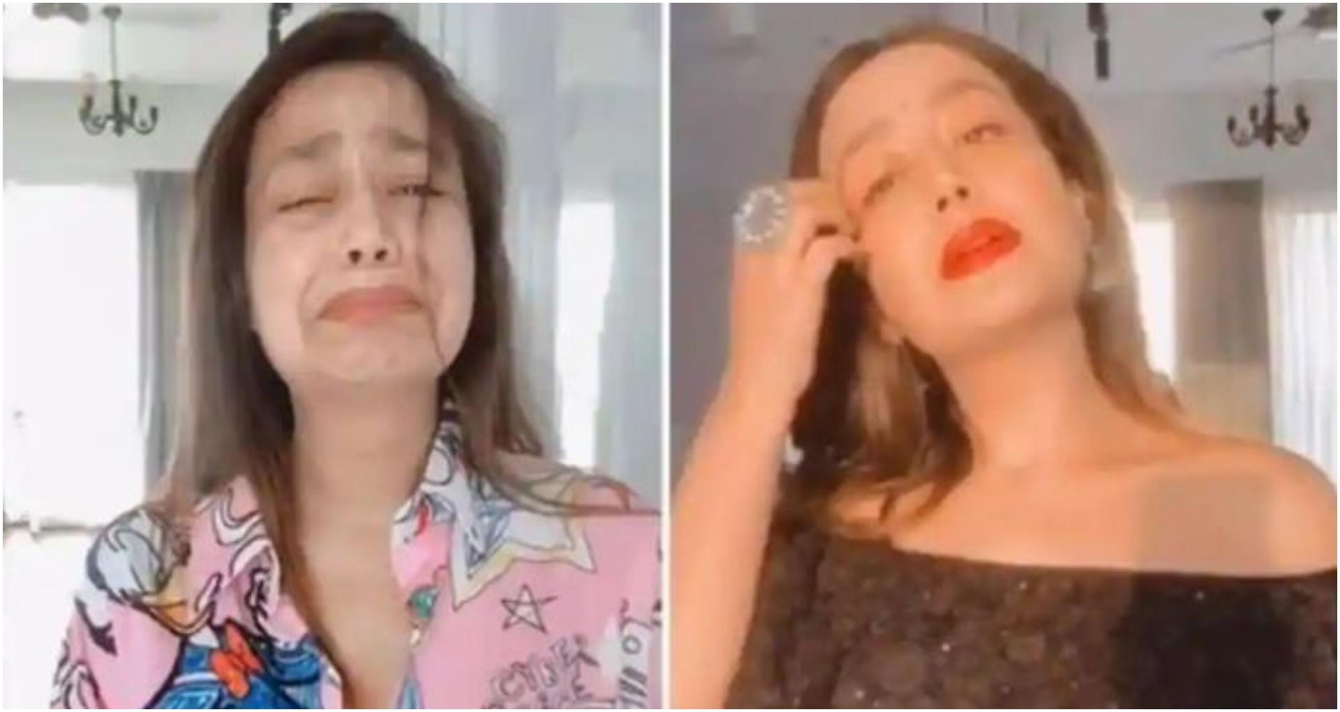नेहा कक्कड़ ने शुरू किया MoveOnChallenge, कहा-Ex Boyfriend को लेकर रोना बंद करें, देखें वीडियो
