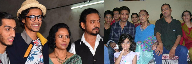 अभिनेता इरफान खान के परिवार में कूल आठ सदस्य हैं, चार दिन पहले ही हुआ था मां का निधन