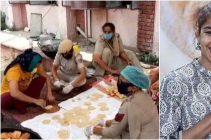 महिला पुलिसकर्मियों के साथ खाना बनाती नजर आईं बबीता फोगाट, वीडियो हो रहा है वायरल