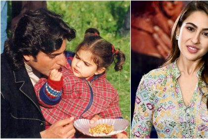 Sara Ali Khan Childhood Pics