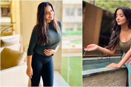 Monalisa Bold Photos: लॉकडाउन के बीच मोनालिसा ने अपनी बोल्ड तस्वीरों से ढाया कहर,देखें तस्वीरें