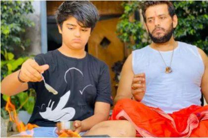 कोरोना के खिलाफ बीजेपी सांसद रवि किशन का बड़ा कदम, विश्व शांति के लिए किया हवन, देखें वीडियो