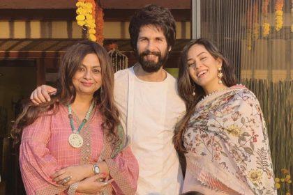 Photos: शाहिद कपूर और मीरा राजपूत की ये तस्वीरें जिसमे एक्टर के माता-पिता पंकज कपूर और नीलिमा अजीम भी है शामिल