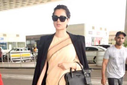 Photos: जब कंगना रनौत ने पहना था सिर्फ 600 रुपये की साड़ी और हाथों में दिखा था 2 लाख का प्राडा बैग