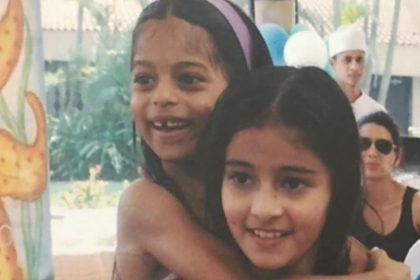 अनन्या पांडे और सुहाना खान का क्यूट वीडियो हो रहा है वायरल, पूल में मजा करते नजर आए दोनों, देखे वायरल वीडियो