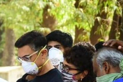 Aamir Khan and Kiran Rao attend last rites of his assistant Amos in mumbai