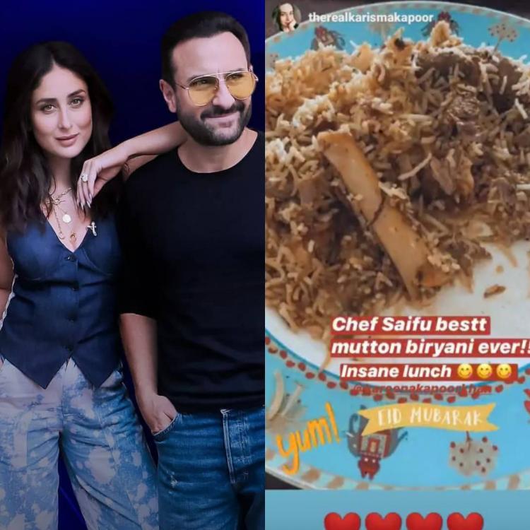 Eid Mubarak: Eid पर सैफ अली खान ने करीना कपूर के लिए बनाई मटन बिरयानी, देखें फोटो