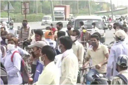 कोरोना वायरस का बढ़ता मामला देख हरियाणा सरकार ने दिल्ली से सटे बॉर्डर को एक बार फिर सील कर दिया