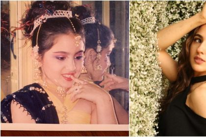Sara Ali Khan Childhood Pics