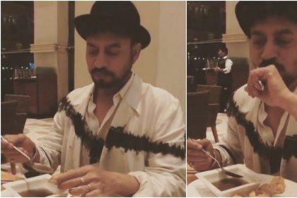इरफान खान के बेटे बाबिल ने शेयर किया UNSEEN वीडियो, गोलगप्पे खाते नजर आए इरफ़ान, देखें वीडियो