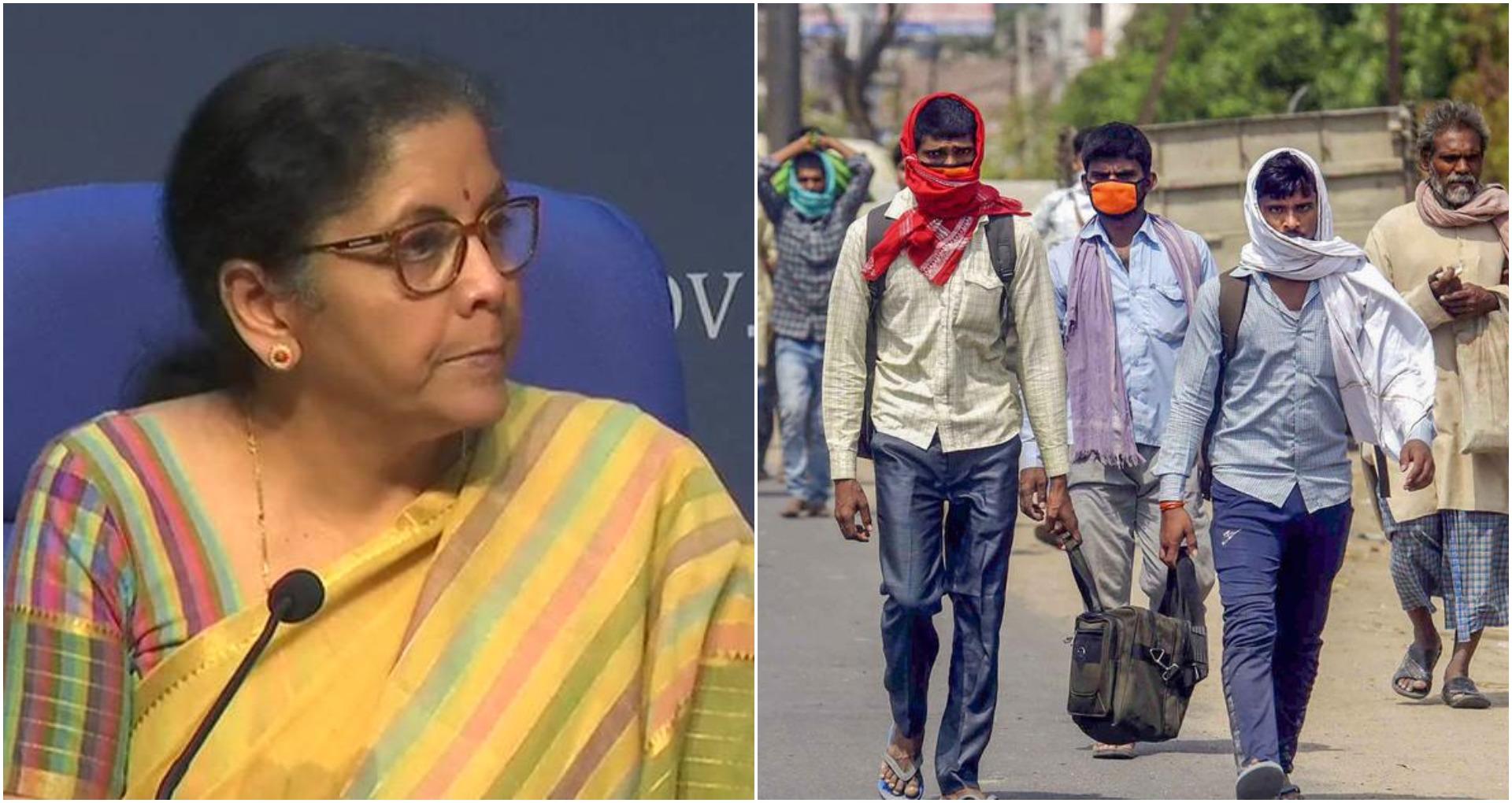 Aatmanirbhar Bharat Abhiyan Highlights: अगले 2 महीनों के लिए प्रवासी मजदूर को मुफ्त राशन: वित्त मंत्री