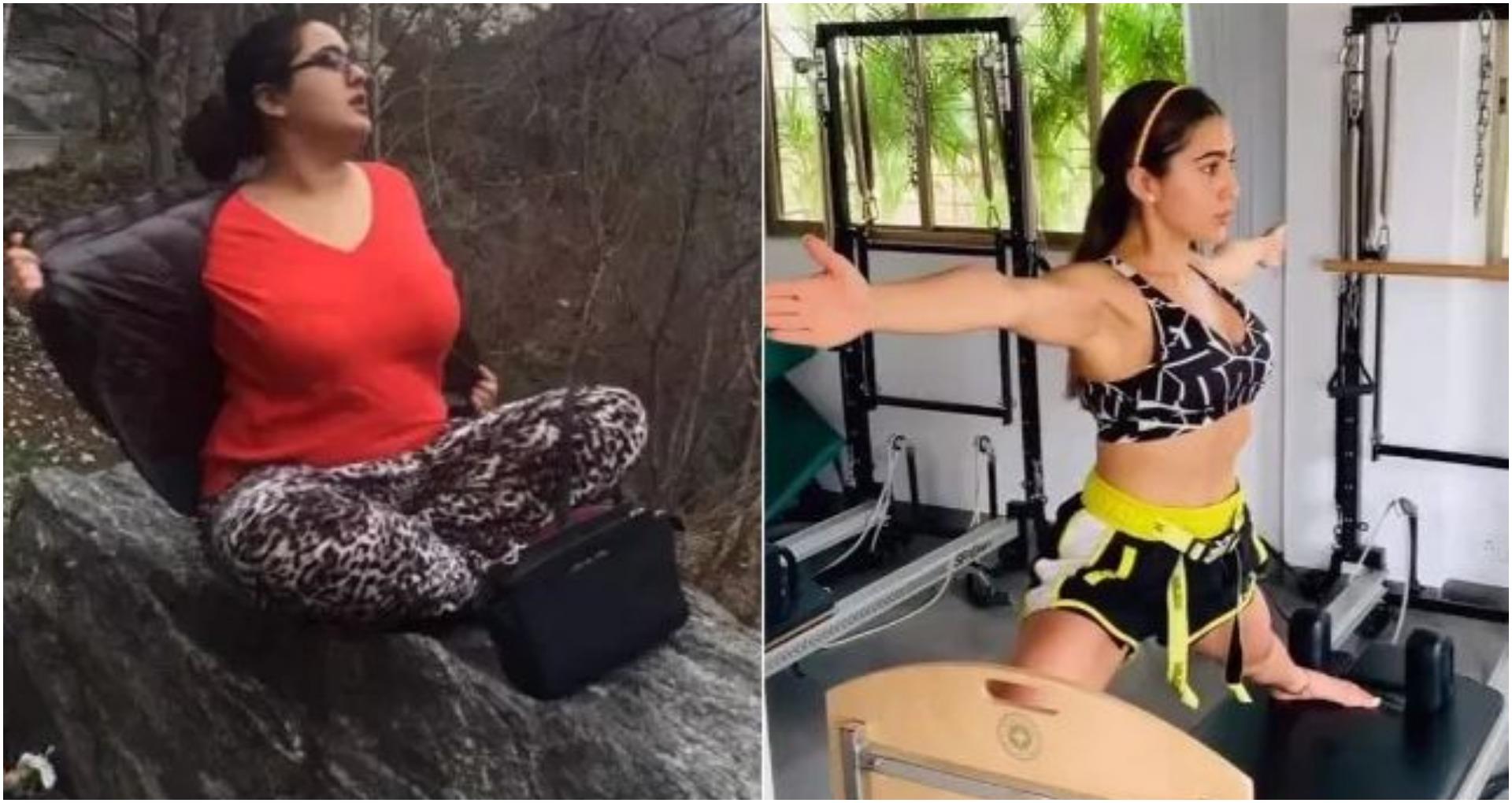 सारा अली खान ने खुद को कड़ी मेहनत से किया फिट, अब फैट टू फिट वीडियो हो रहा Viral, देखें वीडियो