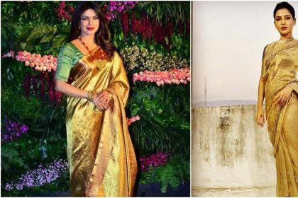 Priyanka Chopra Jonas, Deepika Padukone, Samantha Akkineni, Kareena Kapoor Khan dazzled in golden saree