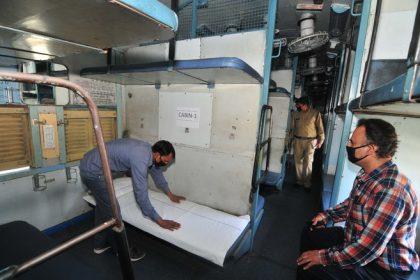 रेलवे ने 4 राज्यों को दिए 204 कोच, जरूरत पड़ी तो बिस्तर की उपलब्धता बढ़ाने के लिए देंगे और 5000 कोच