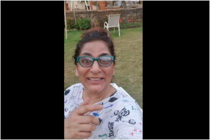 अर्चना पूरन सिंह लॉकडाउन के बीच घर के गार्डन में पति के साथ कुछ इस अंदाज में कर रही है गपशप