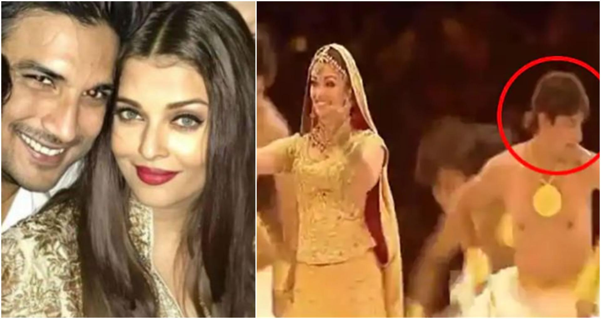 ऐश्वर्या राय बच्चन के साथ सुशांत सिंह राजपूत का डांस वीडियो हो रहा वायरल, देखें वीडियो