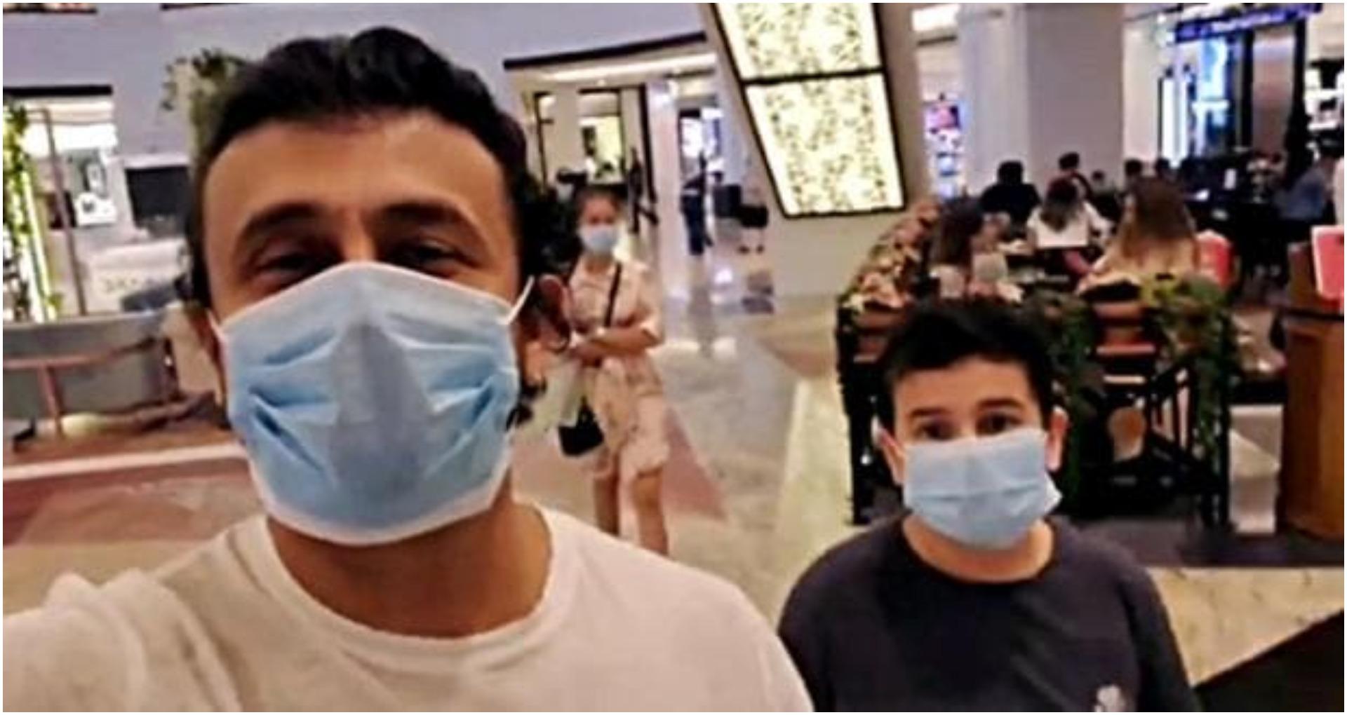 दुबई के मॉल में घूमते दिखे सोनू निगम, कहा- 'कोई पहचान नहीं रहा मुझे'