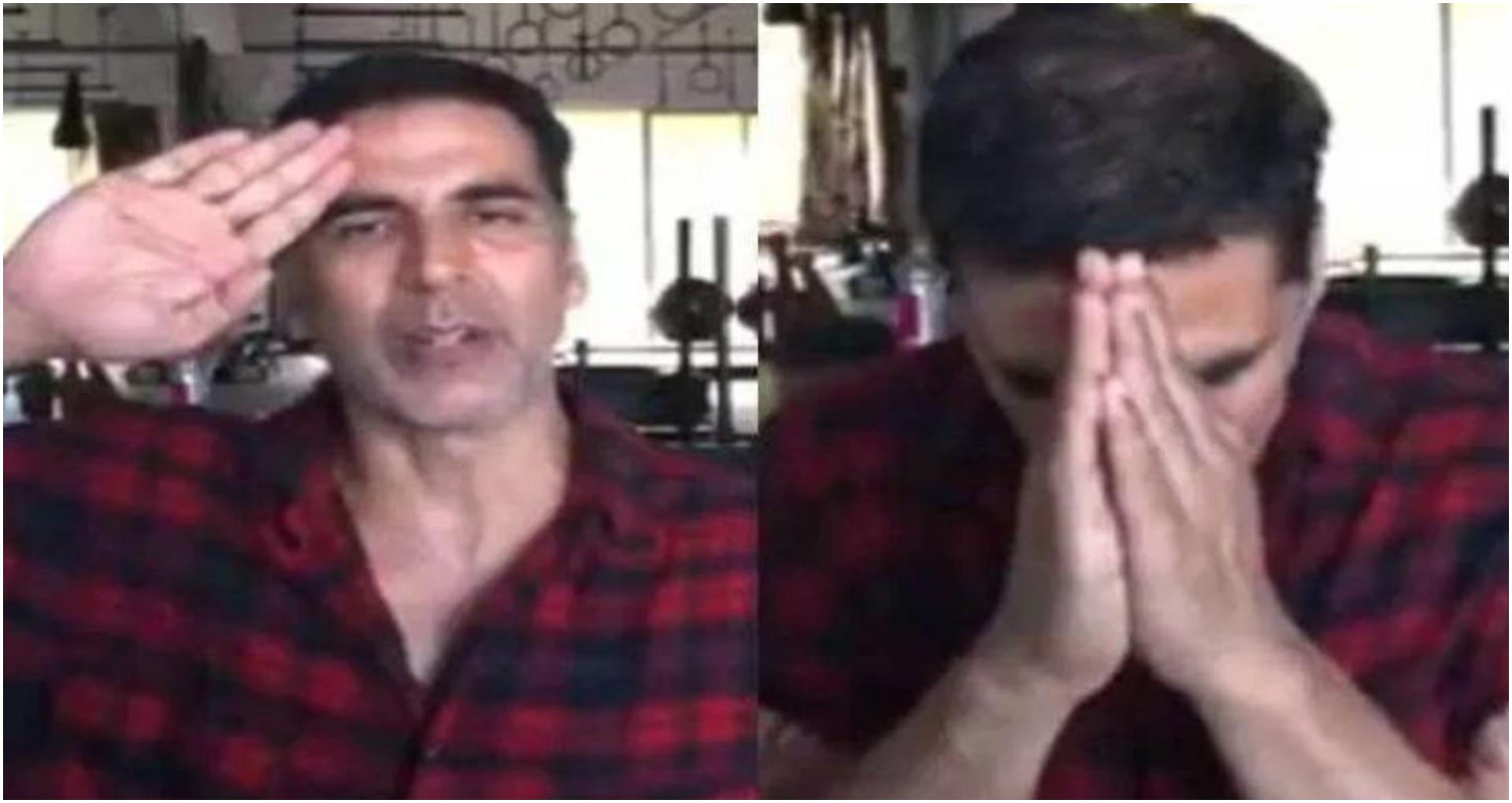 अक्षय कुमार का मेट्रो-एयरपोर्ट पर डटे रहने वाले CISF जवानों को सलाम, देखें Viral वीडियो