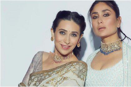 करिश्मा कपूर और करीना कपूर खान की तस्वीर (फोटो: इंस्टाग्राम)