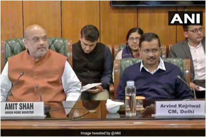 दिल्ली में कोरोना के बढ़ते मामलों के बीच, सीएम अरविंद केजरीवाल ने गृह मंत्री अमित शाह से की मुलाकात