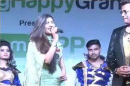 जब मंच पर सपना चौधरी और रवि किशन आए एक-साथ, मचा दिया धमाल, देखें Video