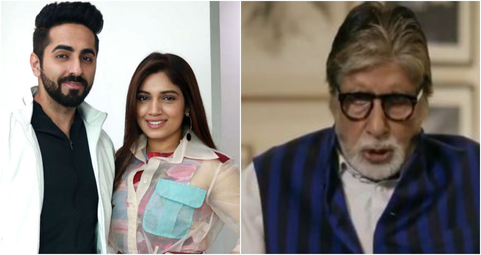अमिताभ बच्चन ने 7 सेलेब्स को दिया मजेदार चैलेंज, भूमि और आयुष्मान ने दिया ये रिएक्शन