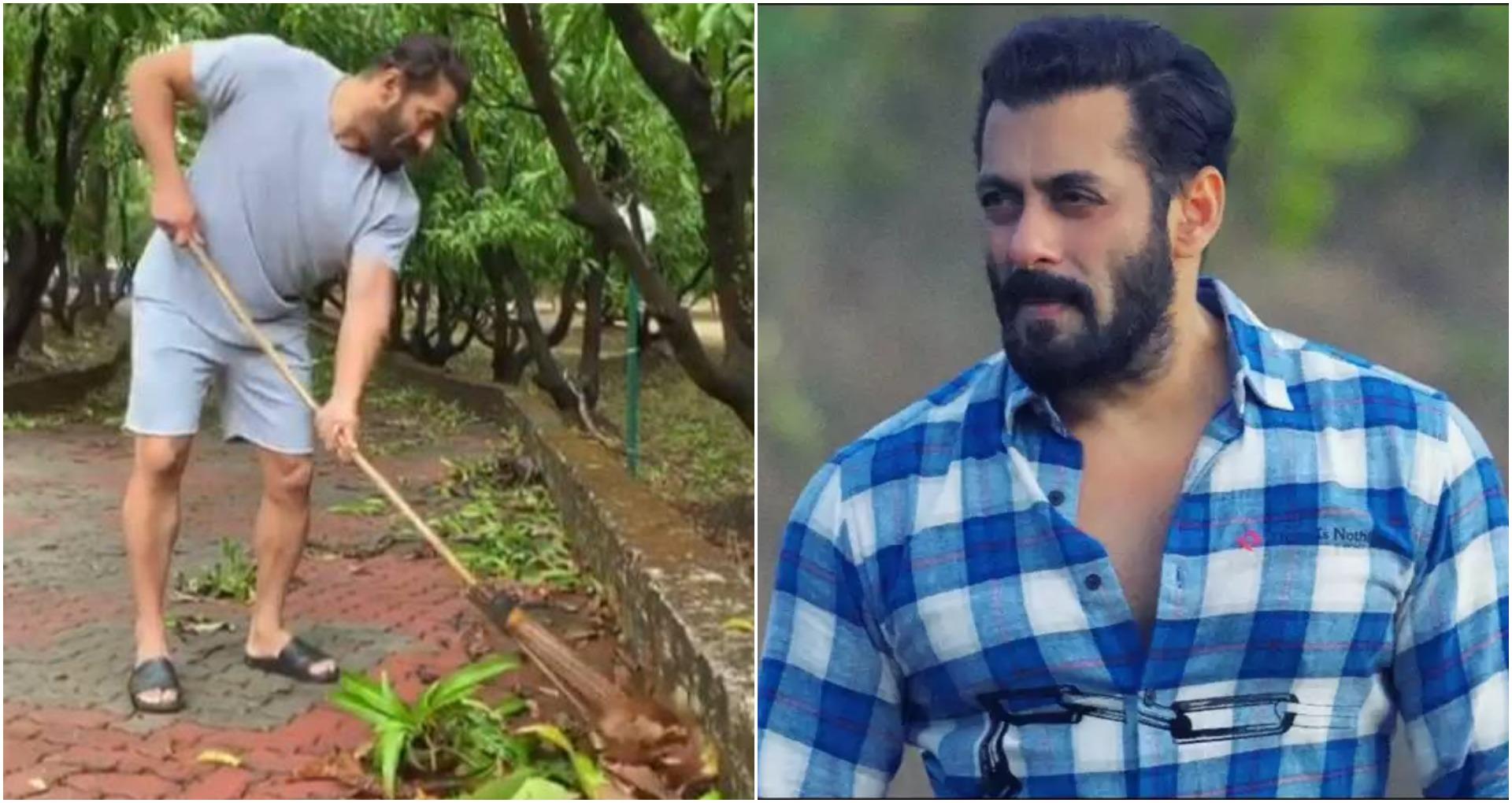 World Environment Day: सलमान खान ने लगाया पनवेल फार्म हाउस में झाड़ू, वायरल हुआ वीडियो