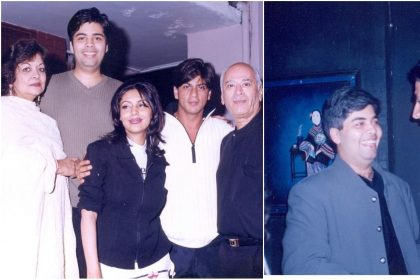 Photos: karan johar shares throwback pictures with Shah Rukh Khan and Akshay Kumar
