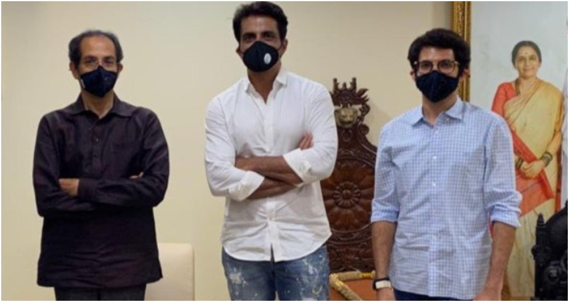 संजय राउत के टिका के बाद, सोनू सूद ने उद्धव ठाकरे और आदित्य ठाकरे से मातोश्री पर की मुलाकात, पढ़ें पूरी रिपोर्ट