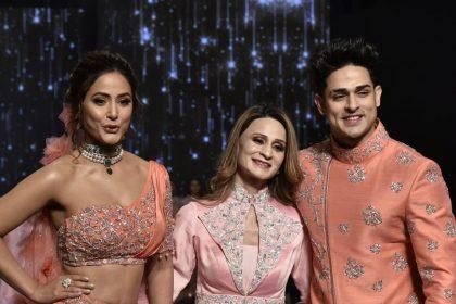 जब हिना खान और प्रियंक शर्मा ने एक साथ किया था रैंप वॉक, जमकर वायरल हो रही हैं तस्वीरें, Photos
