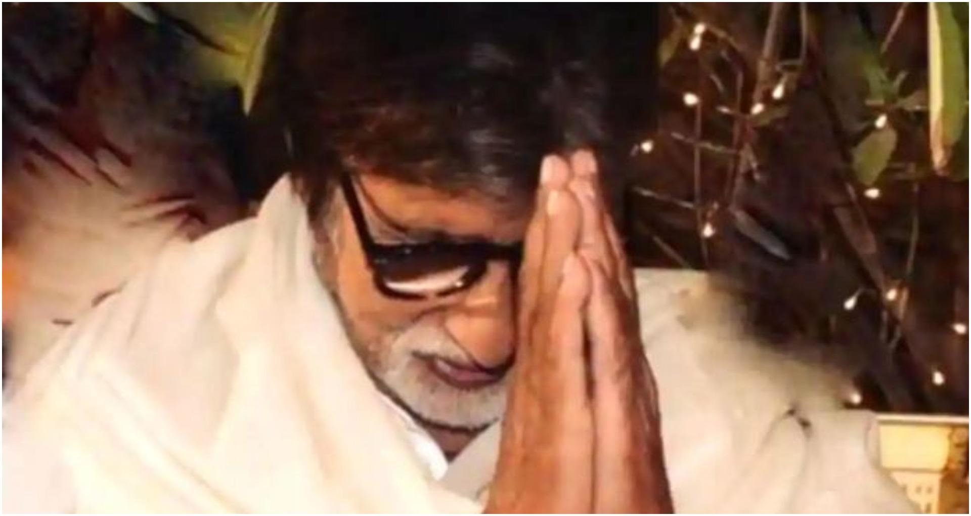 अमिताभ बच्चन ने हेल्थ केयर वर्कर्स के सम्मान में लिखी कविता, बताया 'ईश्वर रूपी देवता ये'