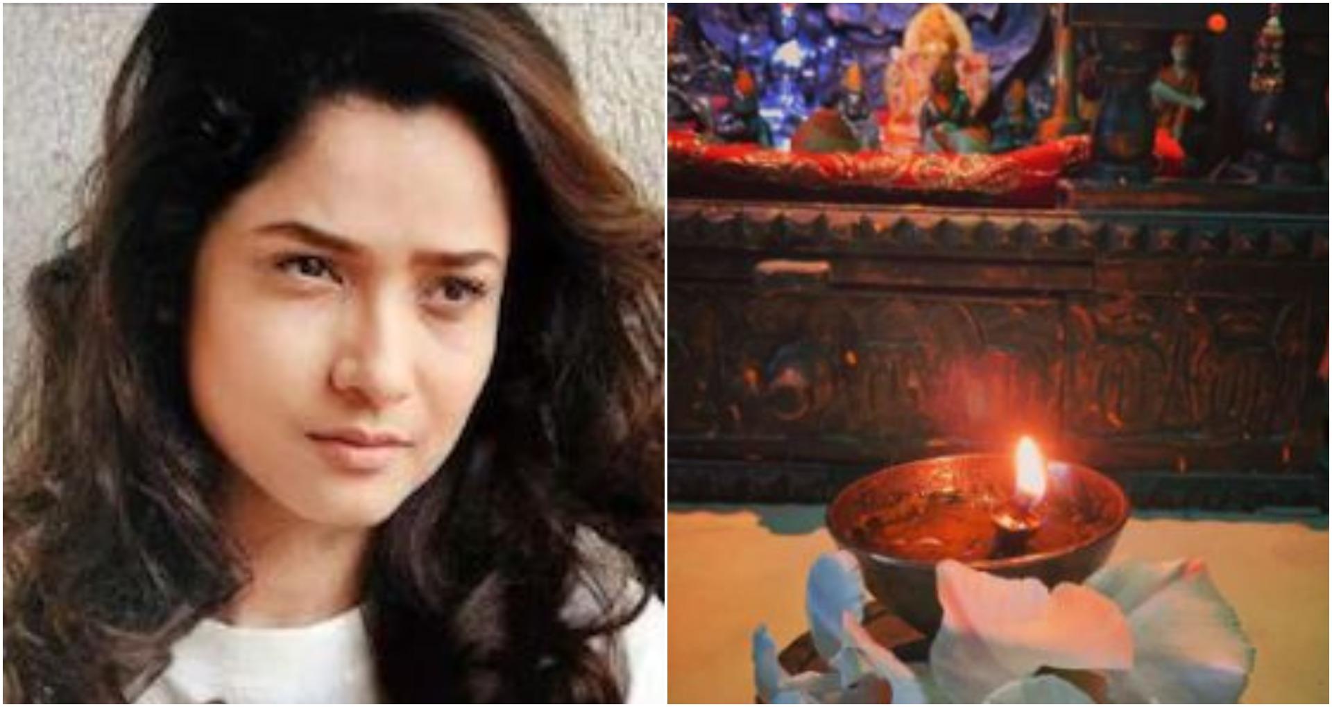 सुशांत की याद में अंकिता लोखंडे ने जलाया दीपक! शेयर की फोटो और लिखा- 'Child of God'