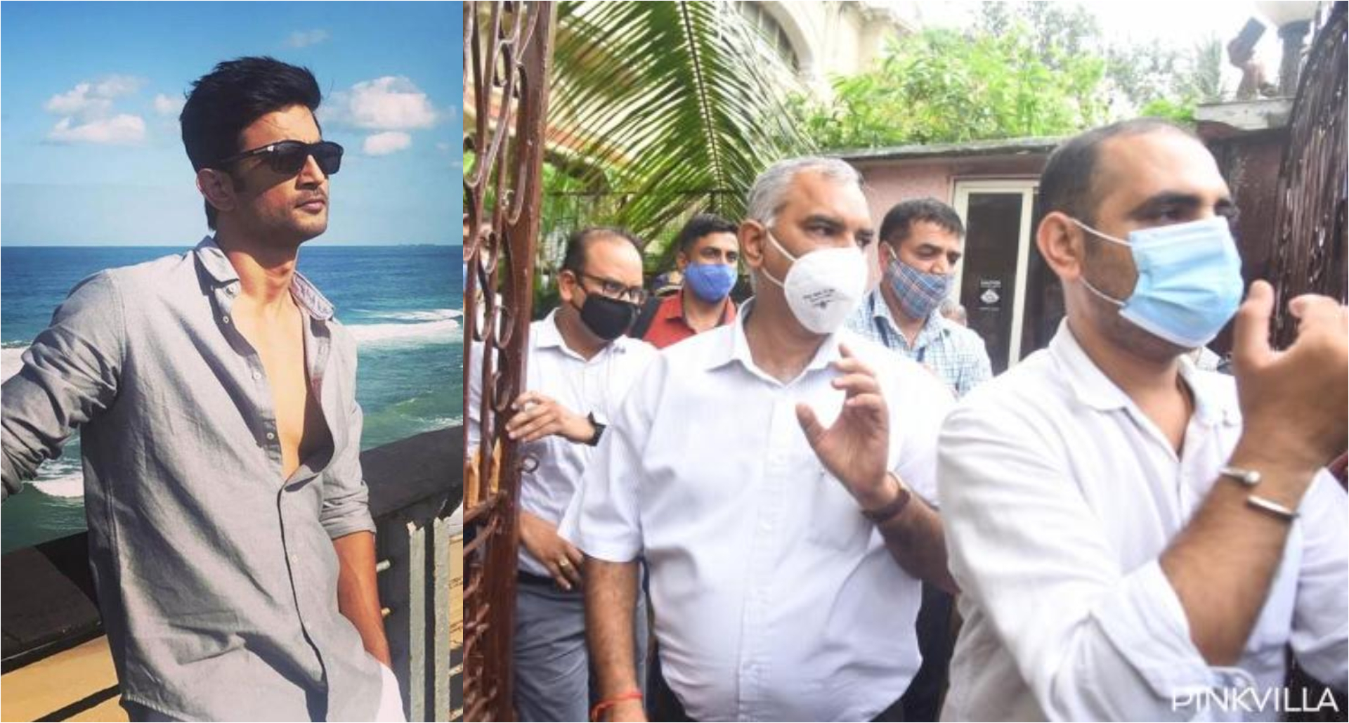 Sushant Singh Rajput Case: CBI ऑफिसर्स के साथ फॉरेंसिक लैब की टीम पहुंची सुशांत के घर, देखिये तस्वीरें!