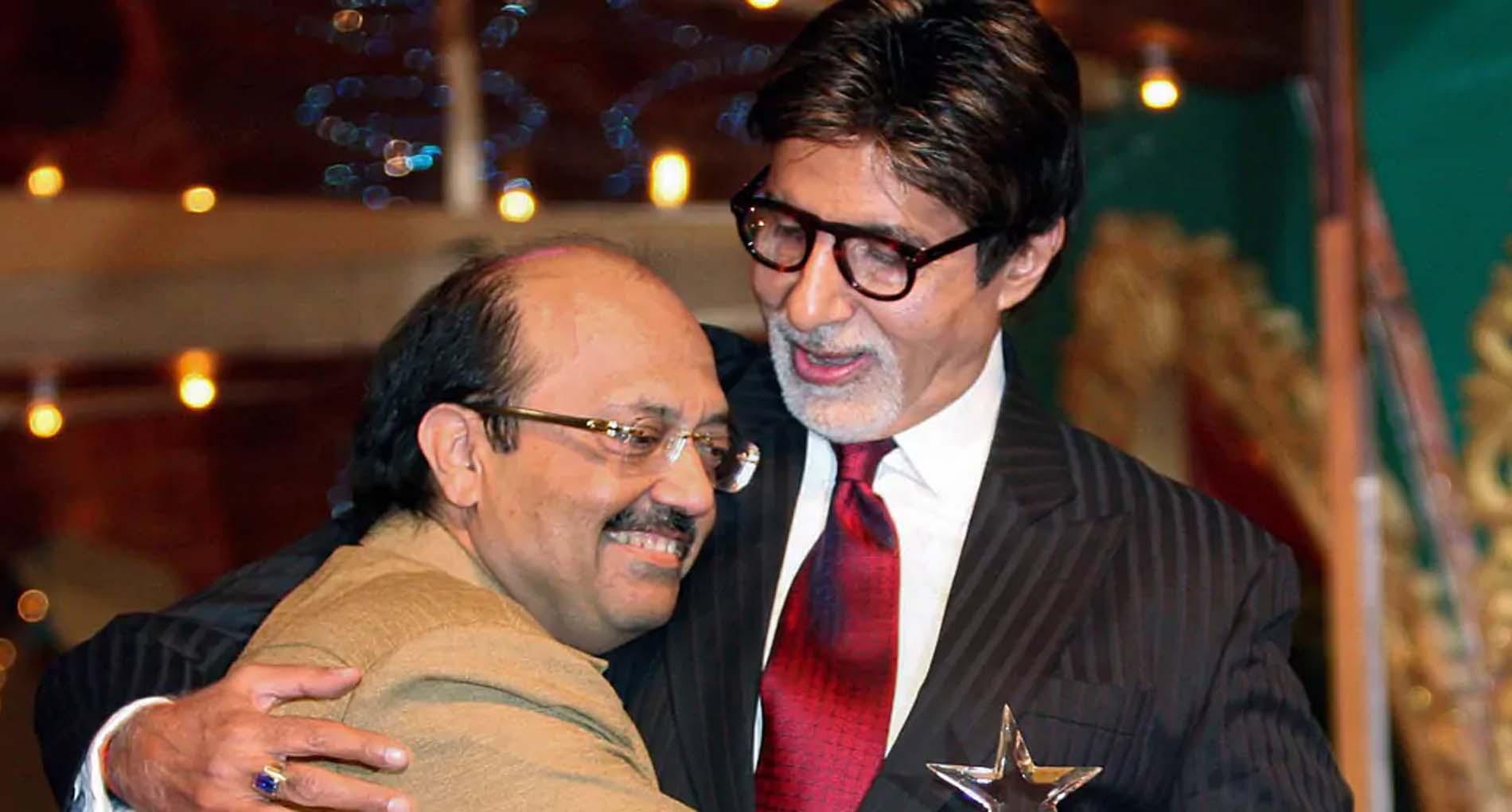अमर सिंह के निधन से काफी दुखी हैं अमिताभ बच्चन, सिर झुका कर दी श्रद्धांजलि! शेयर की तस्वीर