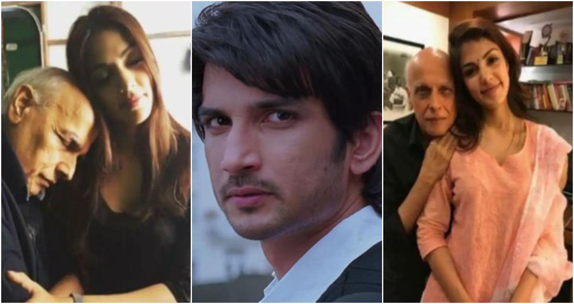 रिया-महेश भट्ट की व्हाट्सएप चैट आई सामने, महेश भट्ट के कहने पर तोड़ा सुशांत संग रिश्ता?