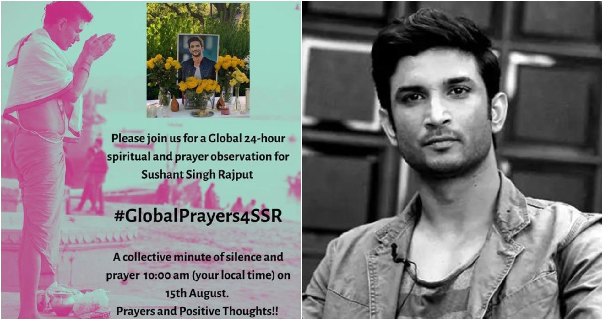 सुशांत सिंह राजपूत के लिए 15 अगस्त को ग्लोबल प्रेयर, बहन श्वेता ने की जुड़ने की अपील!