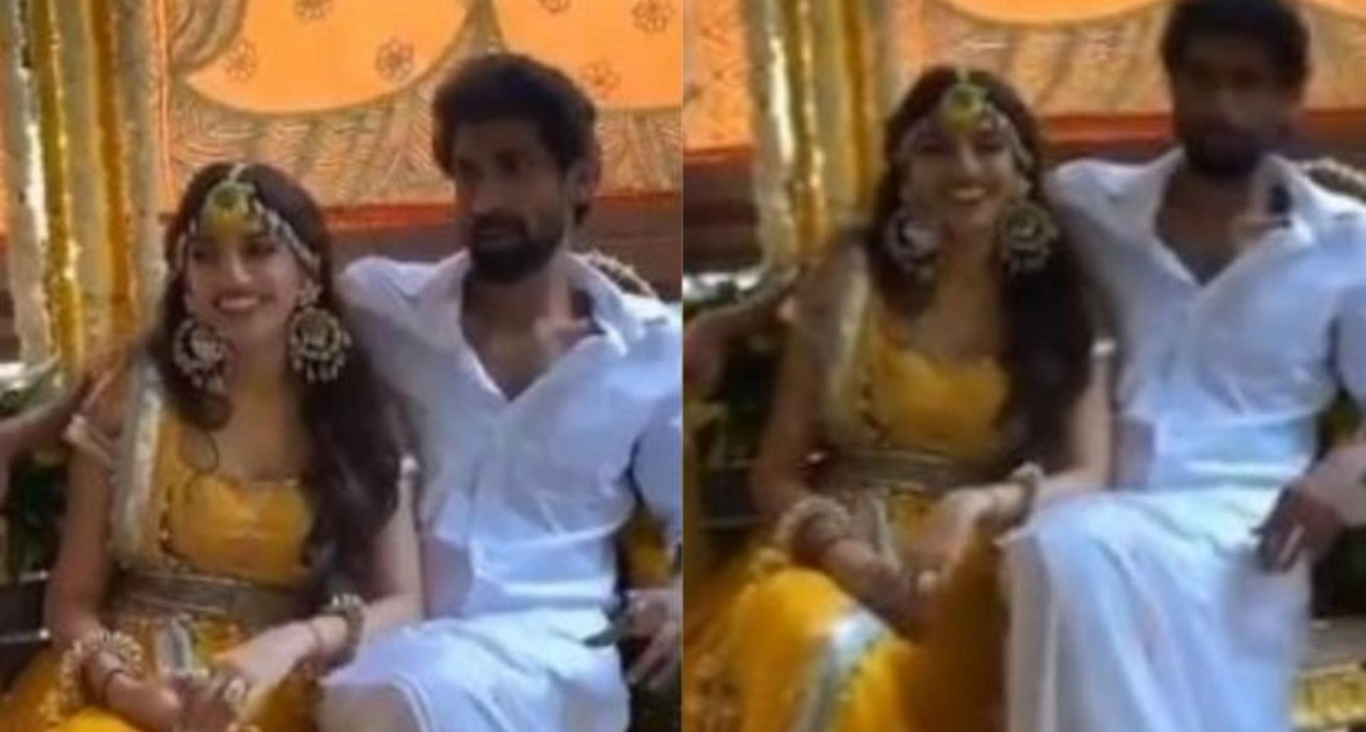 शुरू हो गई राणा दग्गुबाती और मिहिका बजाज की शादी की तैयारियां, देखिये हल्दी सेरेमनी का वीडियो