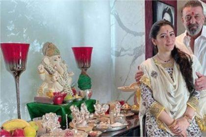 कोरोनाकाल में ऐसे हो रहा है संजय दत्त के घर गणेश चतुर्थी सेलिब्रेट, कहा 'इस साल…!'