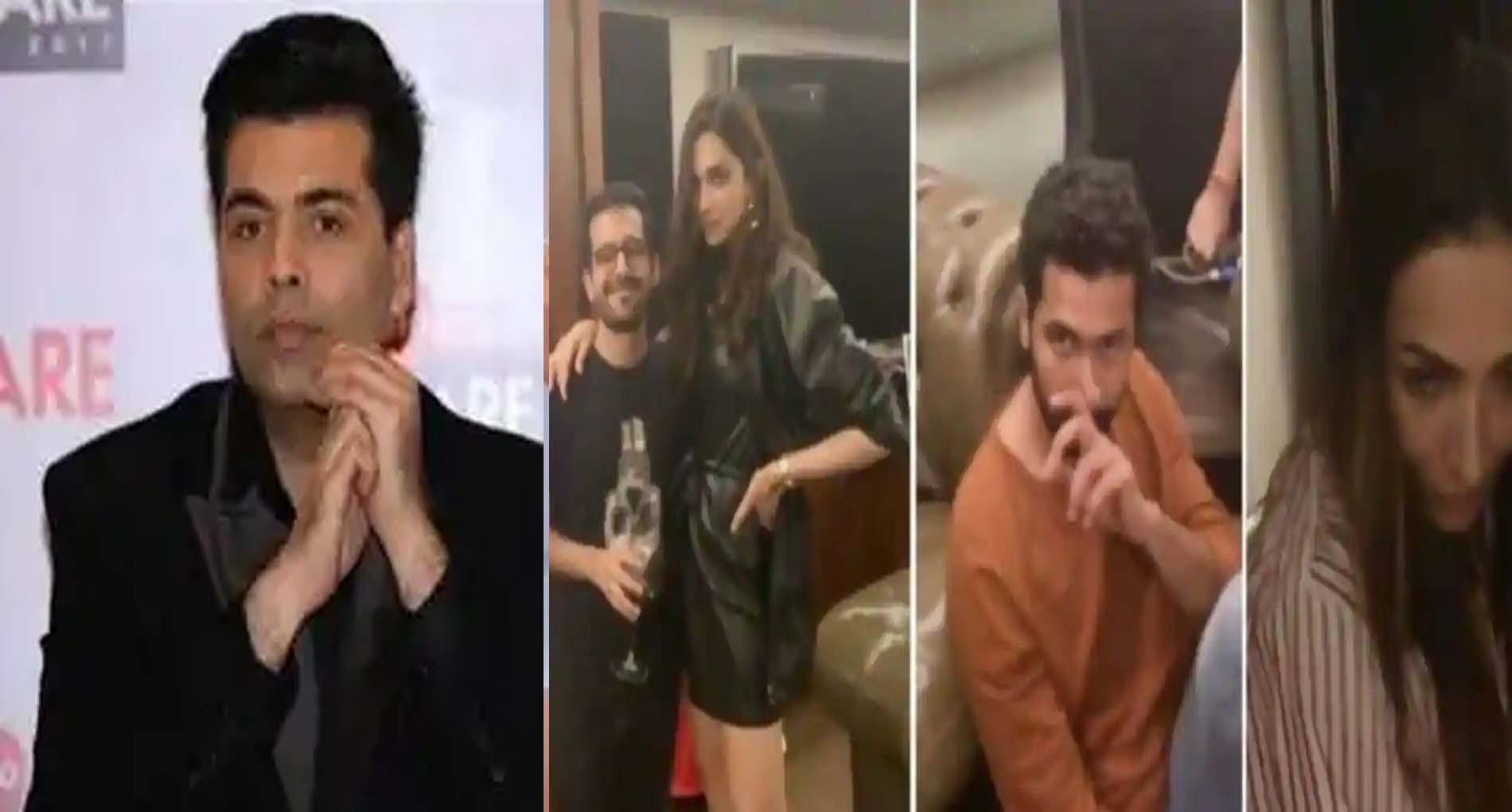 करण जौहर के घर हुई पार्टी की फॉरेंसिक रिपोर्ट आई सामने, बढ़ सकती है सितारों की मुश्किलें!
