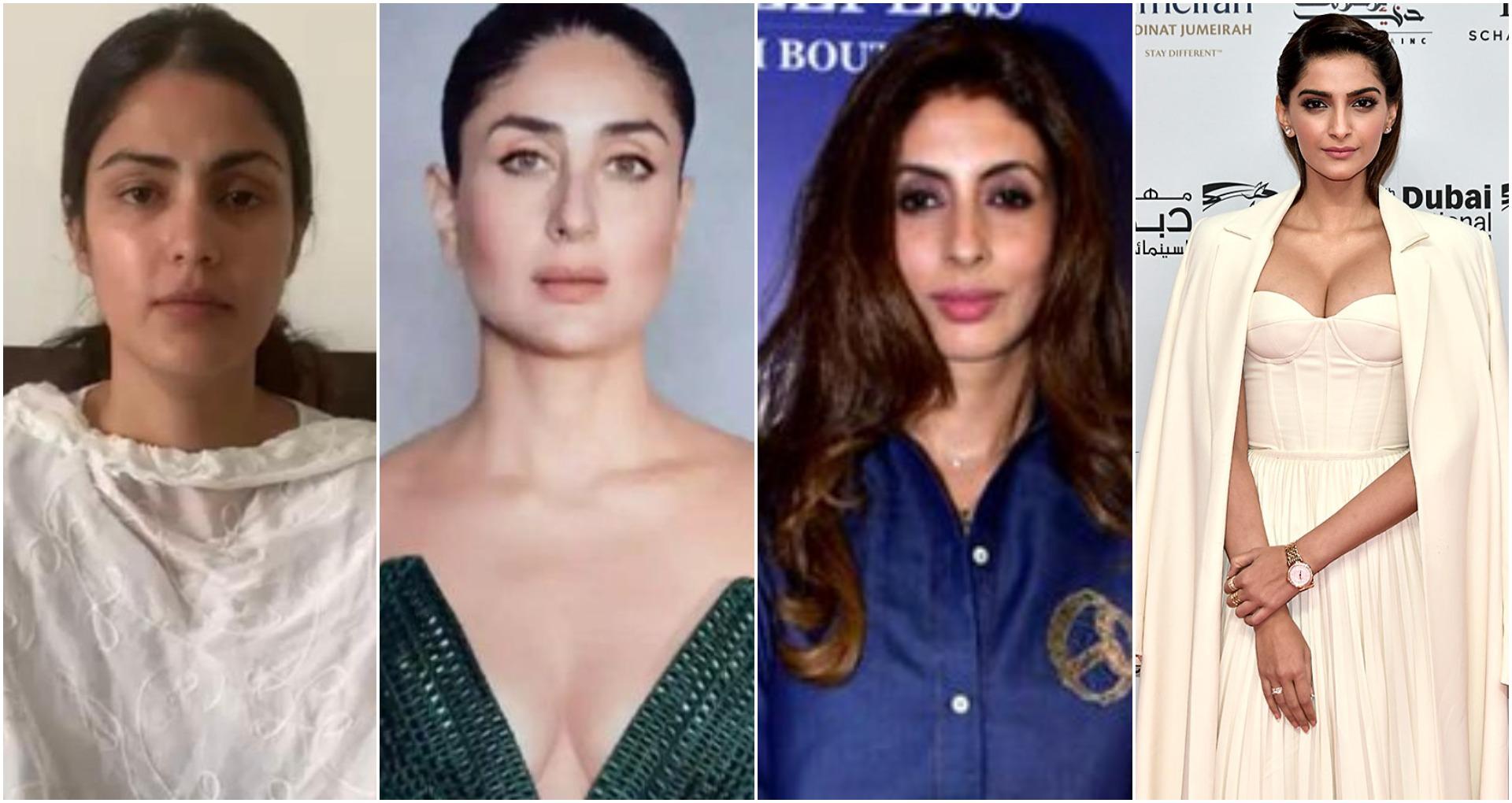 रिया के सपोर्ट में आए कई बॉलीवुड सितारे, सोनम कपूर से लेकर श्वेता बच्चन ने शेयर किया पोस्ट