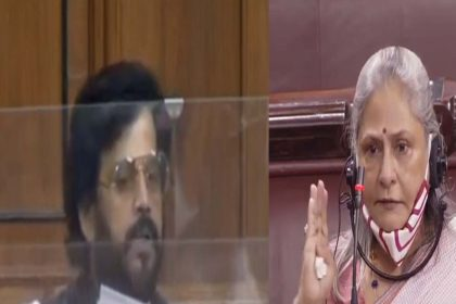 संसद में रवि किशन ने उठाया बॉलीवुड ड्रग्स का मामला! जया बच्चन ने कहा- जिस थाली में खाते हैं…