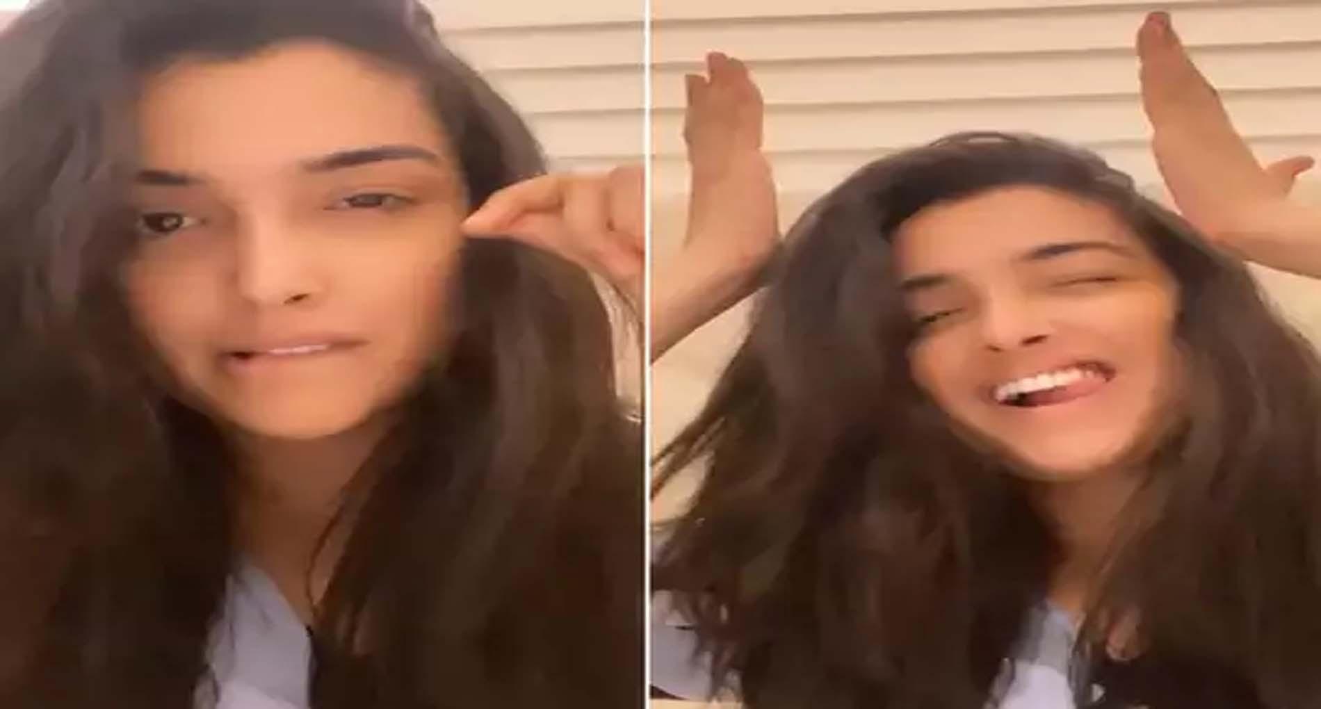 Aamrapali Dubey Video:आम्रपाली दुबे ने पंजाबी गाने पर दिए गजब के एक्सप्रेशन, Video हो गया Viral