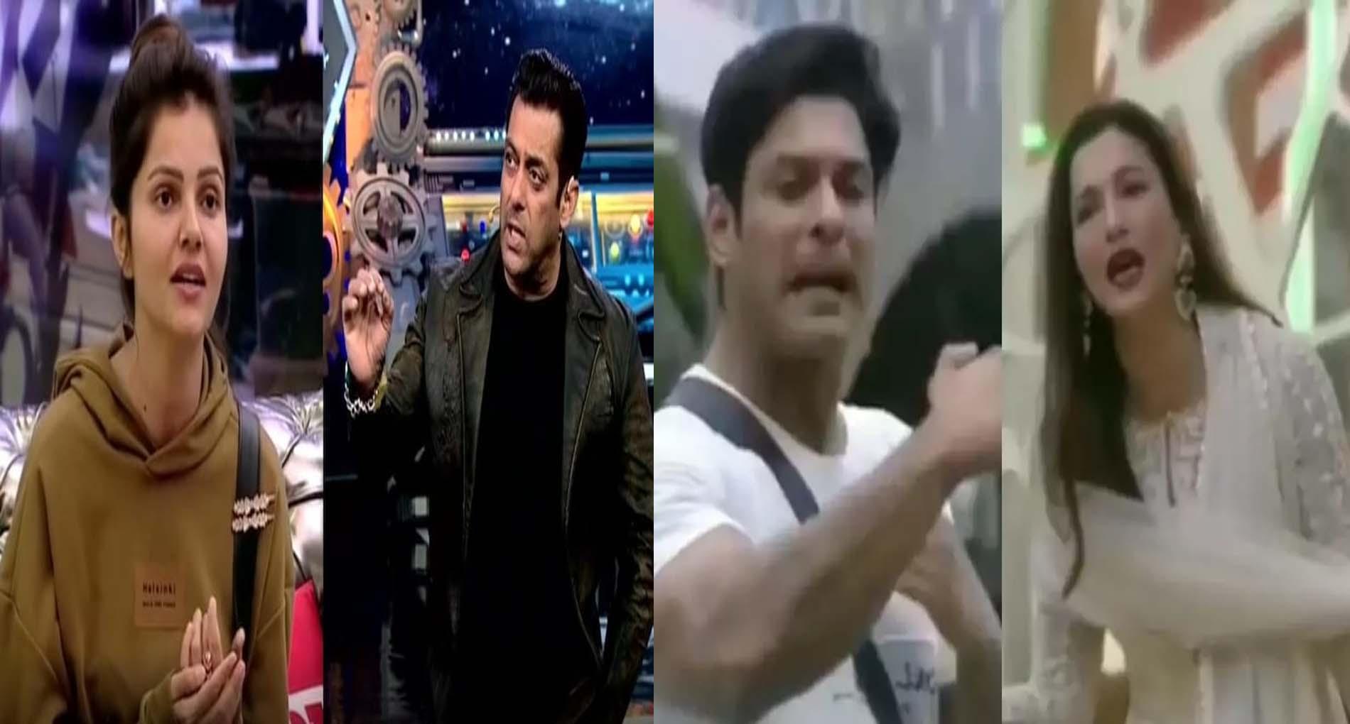 Bigg Boss 14: सलमान खान से नाराज हुईं रुबीना, सिद्धार्थ शुक्ला और गौहर खान में भिड़ंत!