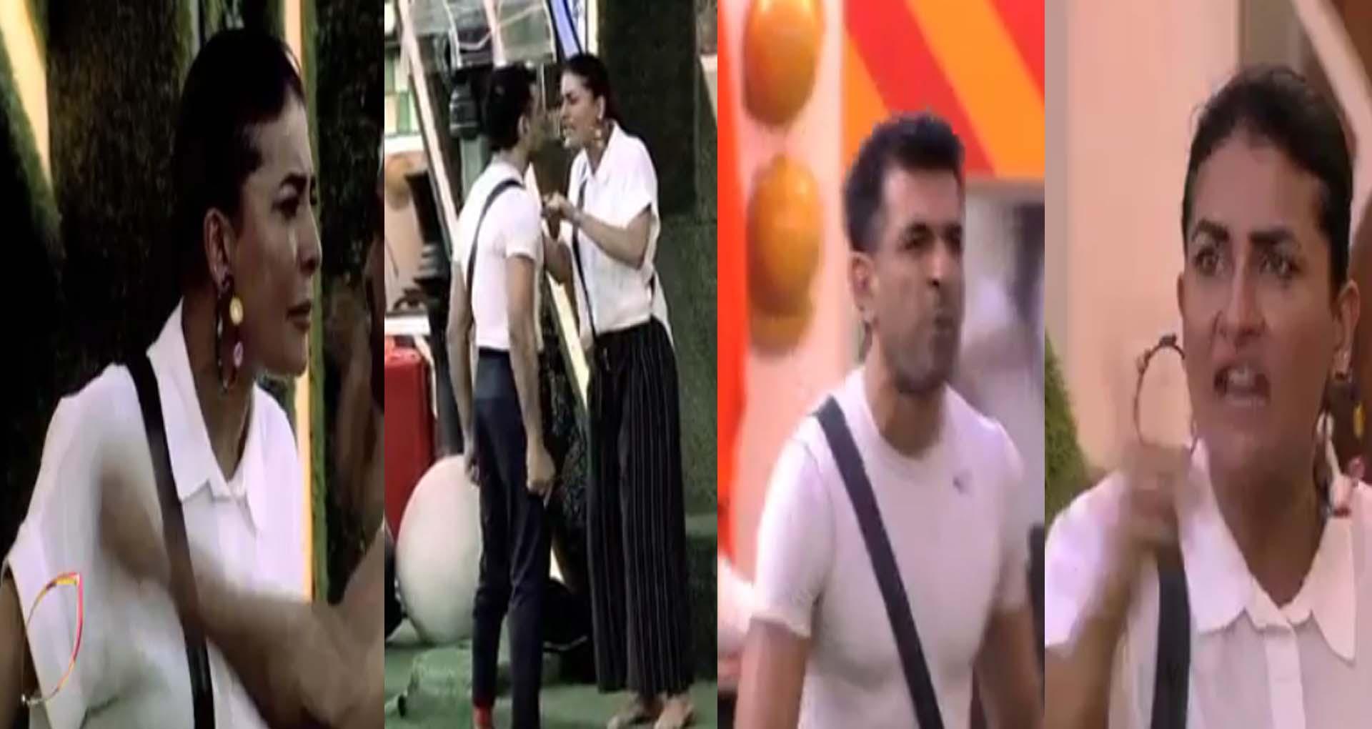 Bigg Boss 14: एजाज खान और पवित्रा पुनिया के बीच बड़ी लड़ाई! दोनों ने दिखाया अपना गुस्सा