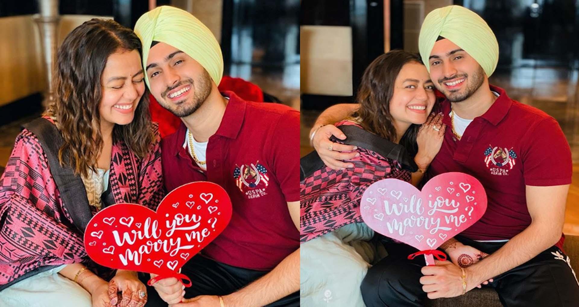 Neha Kakkar Rohanpreet Wedding: नेहा कक्कड़ ने रोहनप्रीत के संग शेयर की ये खूबसूरत फोटोज़,देखें