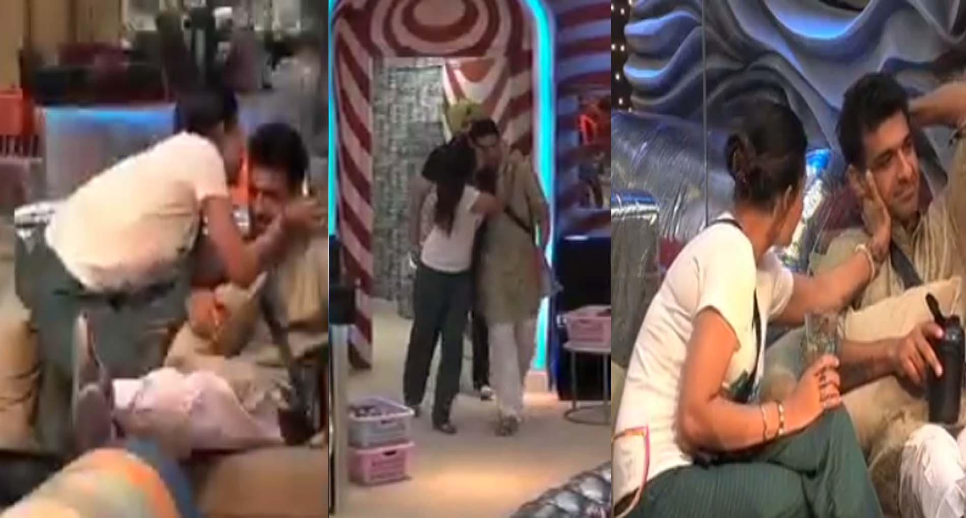 Bigg Boss 14: घर के अंदर शुरू हुआ रोमांस, पवित्रा पुनिया और एजाज खान के बीच पकने लगी खिचड़ी!