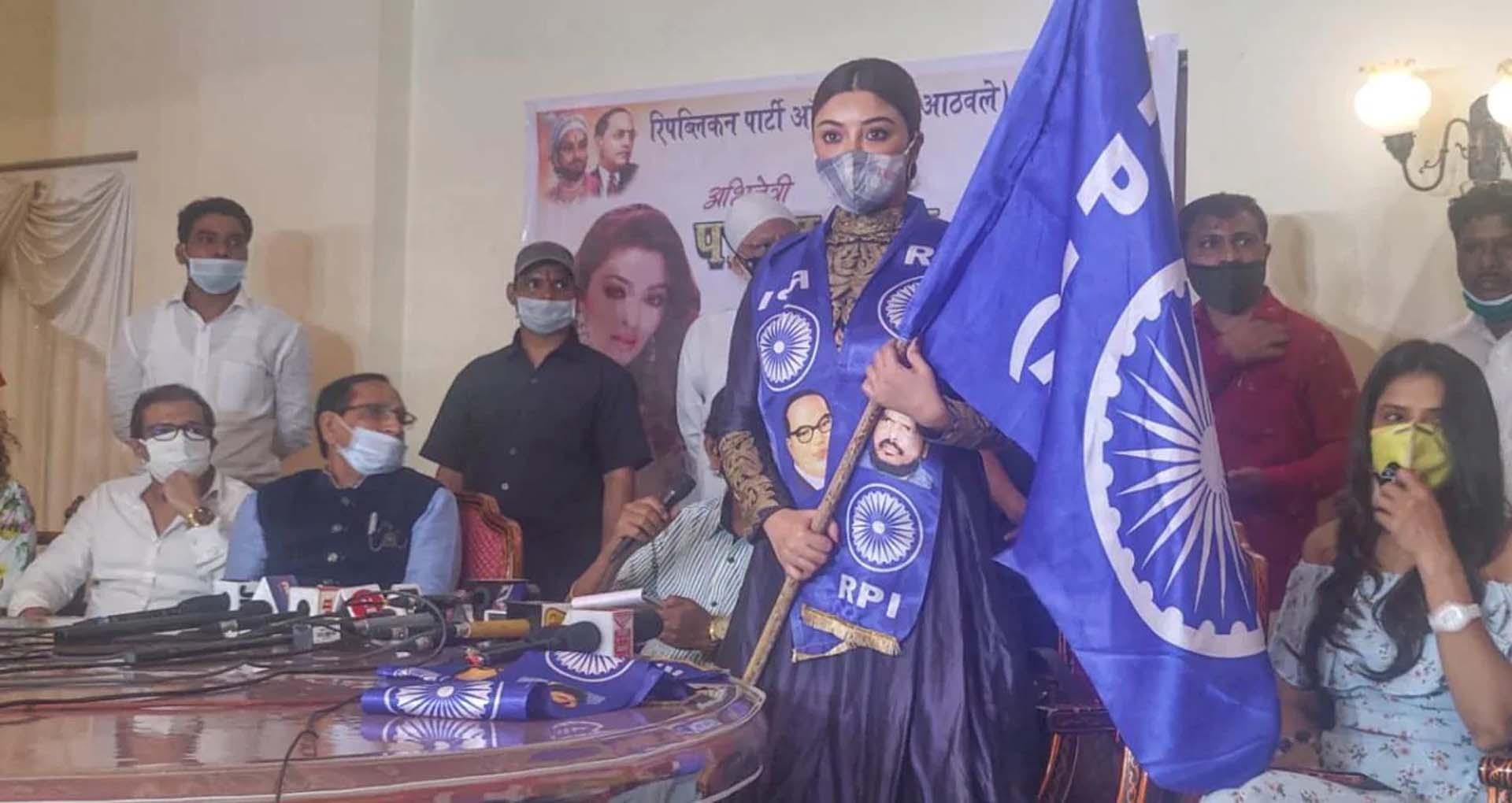 पायल घोष ने थामा अठावले की पार्टी RPI का दामन, अठावले ने कहा- 'अनुराग कश्यप को किया घायल…'