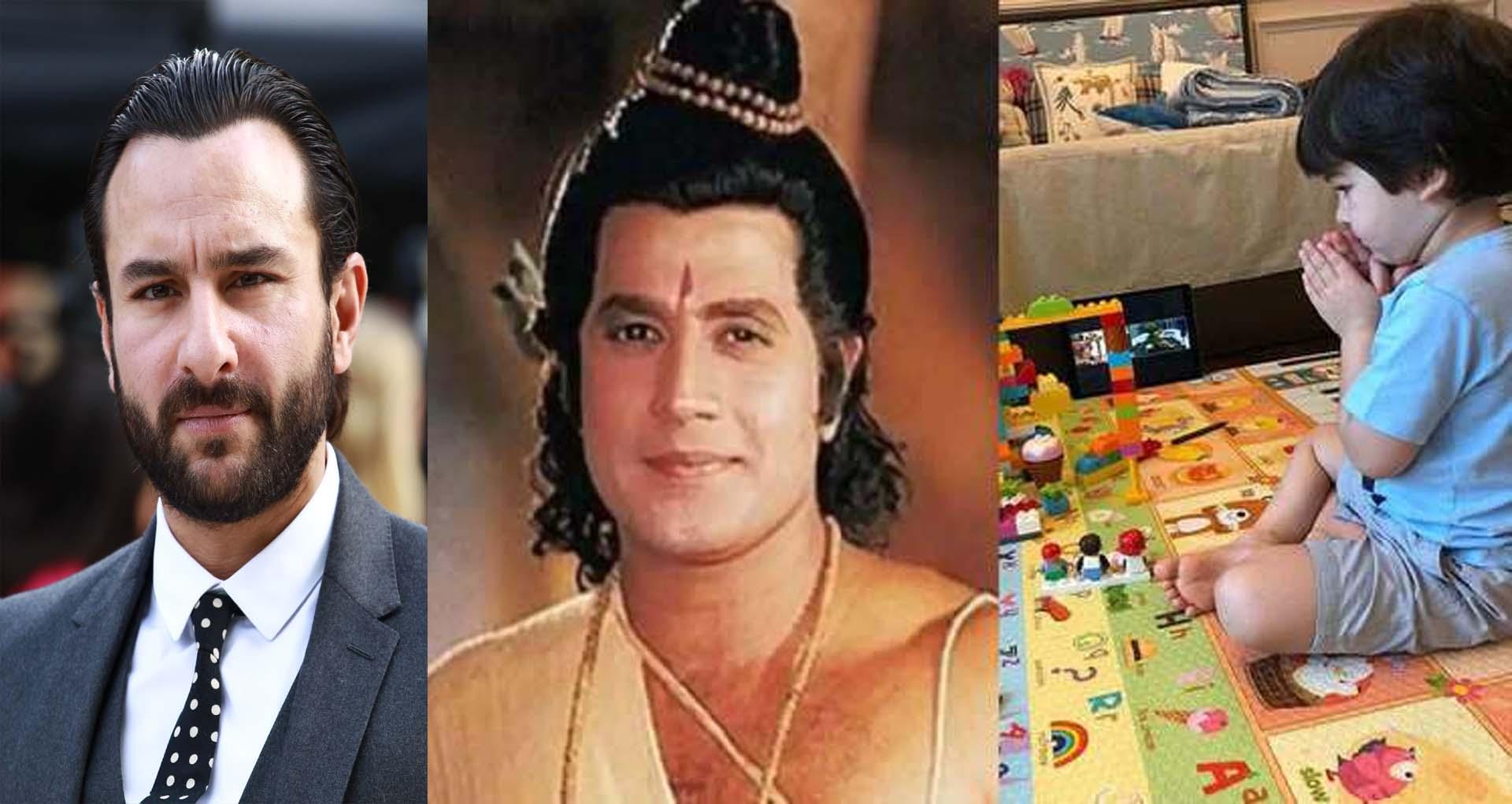 तैमूर को लेकर सैफ अली खान ने कही बड़ी बात, तैमूर को लगता है जैसे वह भगवान श्रीराम हो और…